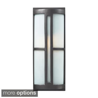 Graphite Outdoor Sconce