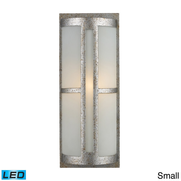 Outdoor Wall Mounted Lights For Sale: Shop Trevot 1-light Sunset Silver Outdoor Wall Mount