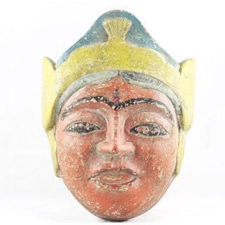 Vintage African Tribal Mask (India)