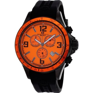 Oceanaut Men's Black and Orange Baltica Watch