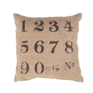 Handmade Jute 20x20-inch Throw Pillow