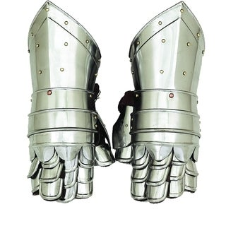 Decorative Metal Armour Gloves
