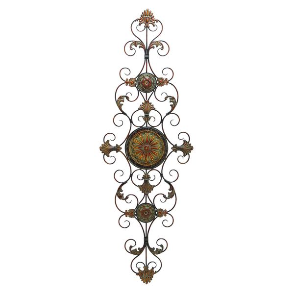 Studio 350 Metal Scroll Decor 55 inches high, 19 inches wide