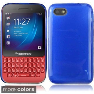INSTEN Frosted TPU Phone Case Cover for Blackberry Q5
