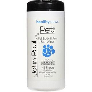 John Paul Pet Full Body/ Paw Bath Pet Wipes