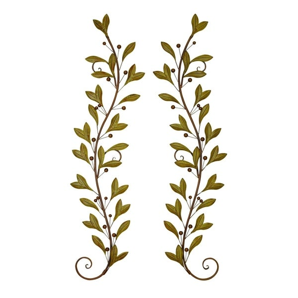 Studio 350 Metal Wall Decor Pr 60 inches high, 14 inches wide