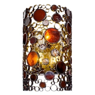 Varaluz Fascination 3-light Glossy Bronze Outdoor Wall Sconce