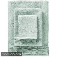 Pleated Turkish Cotton 3-piece Towel Set