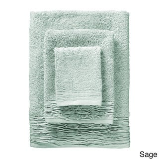 Pleated Turkish Cotton 3-piece Towel Set