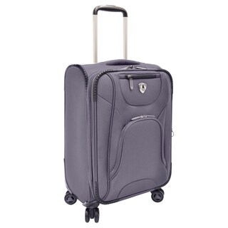 Traveler's Choice Charcoal Cornwall 22-inch Carry On Expandable Spinner Upright