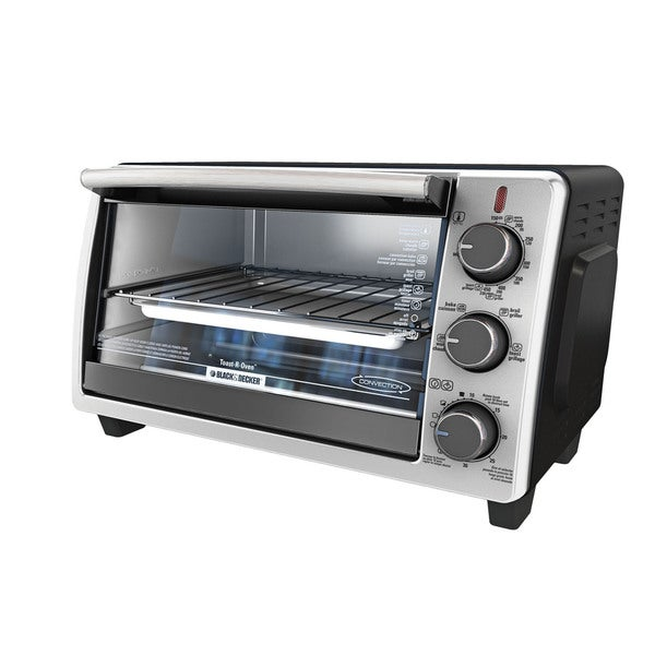 Convection Countertop Oven Stainless Steel : Black & Decker Stainless Steel Convection Countertop Oven - Free ...
