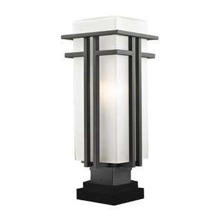Z-Lite Art-Deco Outdoor Pier Mount Light