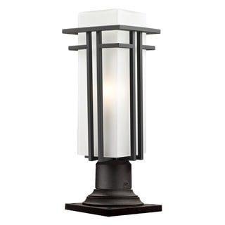 Avery Home Lighting Contemporary Outdoor Pier Mount Light