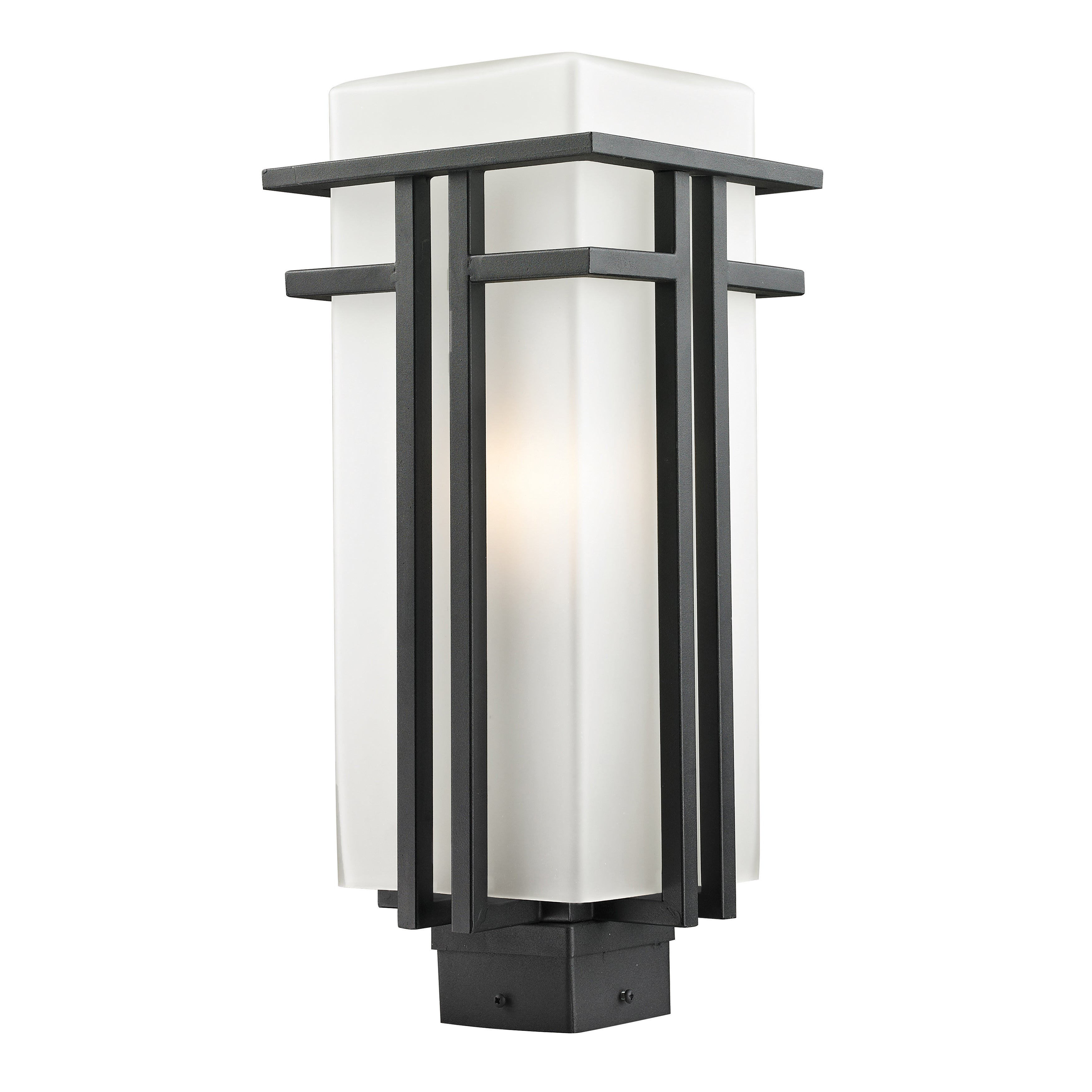 Image of: Shop Black Friday Deals On Avery Home Lighting Modern Outdoor Post Light Overstock 8642329