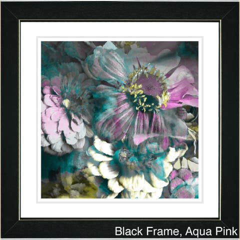 Zhee Singer 'Anapolis Floral' Framed Art Print