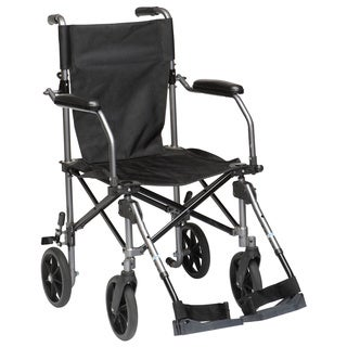 Drive Medical Travelite Chair in a Bag Transport Wheelchair