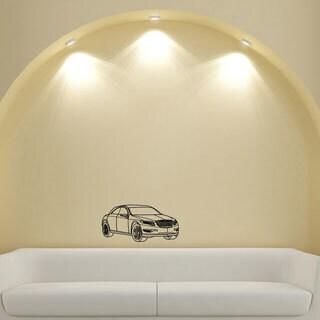 Chrysler Speed Wheel Design Vinyl Wall Art Decal