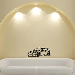 Machine Speed Spoiler Design Vinyl Wall Art Decal