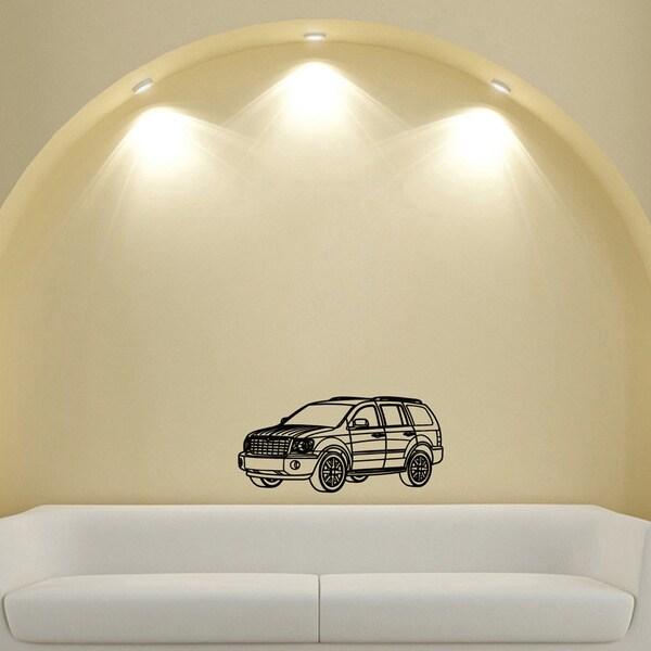 Chrysler Power Jeep Design Vinyl Wall Art Decal