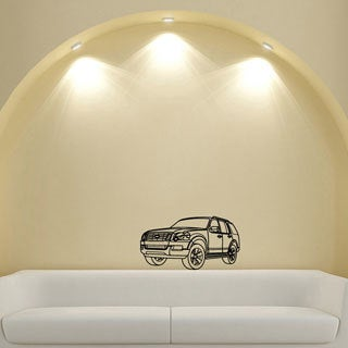 Ford Escape SUV Jeep Design Vinyl Wall Art Decal