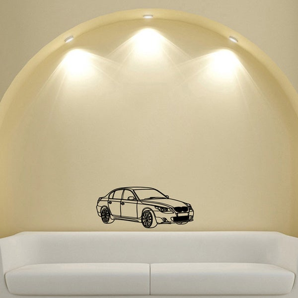 BMW Wall Car Design Vinyl Wall Art Decal