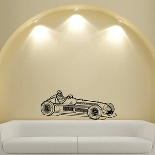 Formula 1 FIA Sports Car Racer Design Vinyl Wall Art Decal