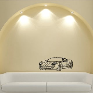 Ford GT Car Concept Future Design Vinyl Wall Art Decal