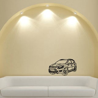 SUV Vinyl Wall Decal