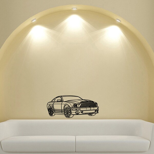 Ford Mustang Vinyl Wall Decal
