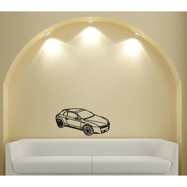 Alfa Romeo Vinyl Wall Decal