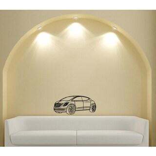 Machine Chrysler Fashion Design Vinyl Wall Art Decal