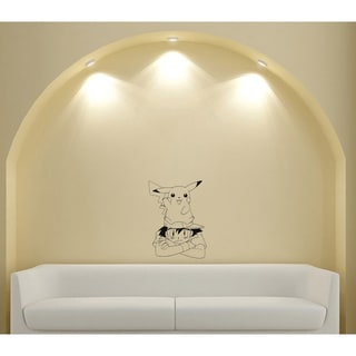 Japanese Manga Small Animal Friendship Vinyl Wall Art Decal