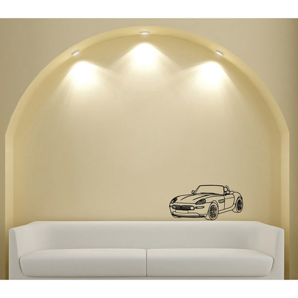 Car Cooper Cabriolet Vinyl Wall Art Decal & Car Cooper Cabriolet Vinyl Wall Art Decal - Free Shipping On Orders ...