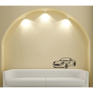 Car Cooper Cabriolet Vinyl Wall Art Decal