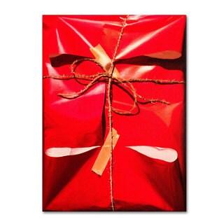 Roderick Stevens 'Red Wrap' Canvas Art