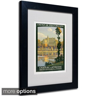Anonymous 'Chateau D'Amboise' Framed Matted Art