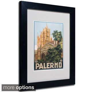 Anonymous 'Palermo' Framed Matted Art