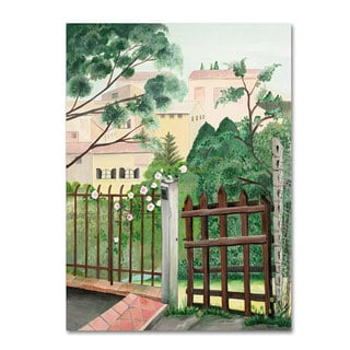 Unknown 'Valley Homes' Canvas Art