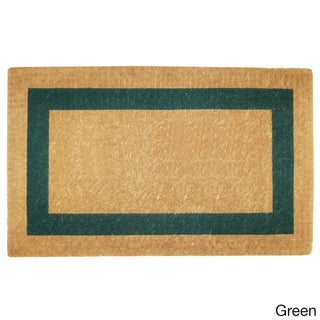 Heavy Duty Coir Single PIcture Frame Doormat (4 options available)