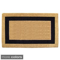 Nedia Home Heavy-duty Coir Single Picture Frame Doormat