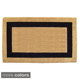 Nedia Home Heavy-duty Coir Single Picture Frame Doormat (4 options available)