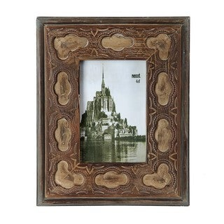 Privilege 4x6-inch Vintage Wooden Photo Frame
