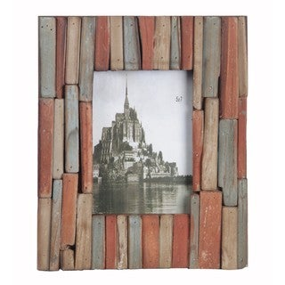 Privilege 5x7 Multicolor Wood Photo Frame