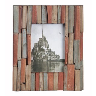 Privilege 5x7 Multicolor Wood Photo Frame