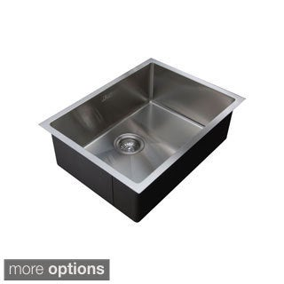 Ukinox RS558 Single Basin Stainless Steel Undermount Kitchen Sink
