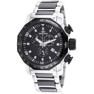 Seapro Men's Stainless Steel Coral Watch