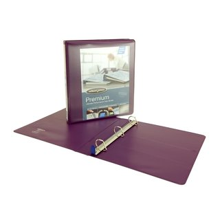 Wilson Jones Single-touch Locking D-Ring View Binder
