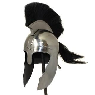 Antique Trojan Steel Helmet Replica