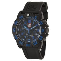 Luminox Men's 'Navy Seal Colormark' Polycarbonate Carbon Chronograph Watch