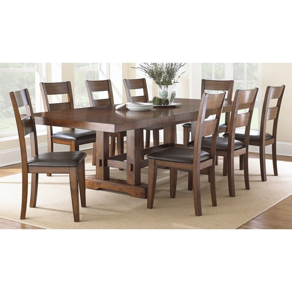 Mission Style Furniture Denver: Greyson Living Denver Dining Set
